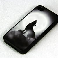 Howl Style iPhone 4 iPhone 4S Case, Rubber Material Full Protection