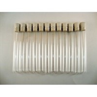 Glass Test Tubes with Stoppers, 18 X 150mm, Pack of 12