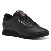 Reebok Classic Princess Black Leather Low CN2211 Womens Sneakers