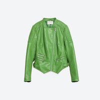 FAUX LEATHER JACKET - OUTERWEAR-WOMAN-PROMOTIONS | ZARA United Kingdom