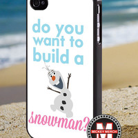 Olaf quote frozen - Iphone 4 Case - iPhone 4/4s/5 Case - Samsung Galaxy S3/S4 Case - Blackberry Z10 Case - Ipod 4/5 Case - Black or White