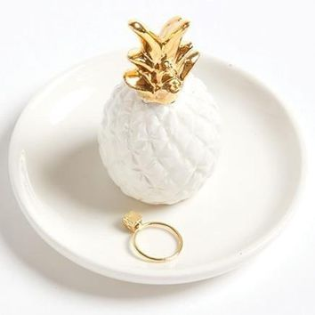 Pineapple or Cactus Ring Holder