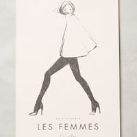 Les Femmes 2015 Calendar by Rifle Paper Co. White One Size House & Home