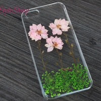 Phone case,iPhone 6 case, Real pressed flowers , iPhone 6 Plus, iPhone 5S case, iPhone 5c case, samsung s5 case, Note3 case, Phone case-F50