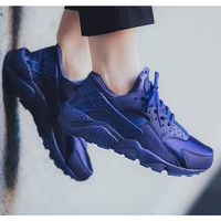 Navy Blue Nike Air Huaraches