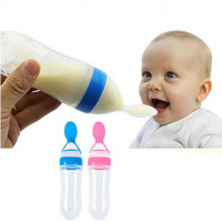 Pacifier Solid Food Baby emzik Spoon/feeding bottle chupete/weaning/Squeezing Feeding Spoon Baby Necessities feeder bottle