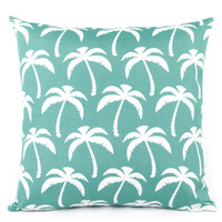 Palm Beach Outdoor Throw Pillow