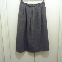 Shades of Grey Wool Skirt by Pendleton