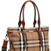 Infant Burberry Diaper Bag