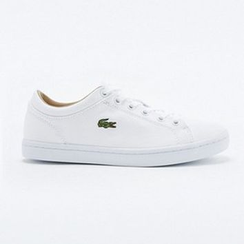 Lacoste Straightset White Trainers - Urban Outfitters