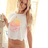 Slouchy Crop Tee - Anytime Tees - Victoria's Secret
