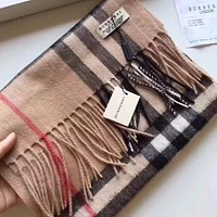 *Authentic Burberry Exploded Large Check Cashmere Scarf*