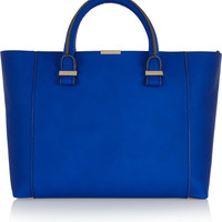 Victoria Beckham - Quincy textured-leather tote