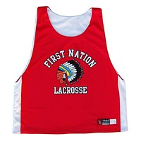 First Nation Sublimated Lacrosse Pinnie
