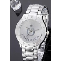 PANDORA 2019 new big O dial wild fashion quartz watch 3