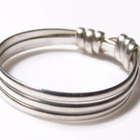 Band Ring, Argentium Silver