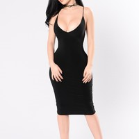 Simple Kind Of Life Dress - Black
