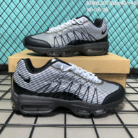 DCCK2 N169 Nike Air Max 95 HYP PRM Anniver Flyknit Causal Running Shoes Black White