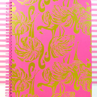 LILLY PULITZER: Large Notebook - Gimme Some Leg