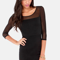 Jack by BB Dakota Lysa Black Dress