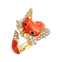 kate spade new york 'into the woods - fox' wrap ring   Nordstrom