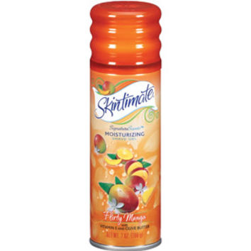 Walmart: Skintimate Signature Scents Flirty Mango Moisturizing Shave Gel, 7 oz