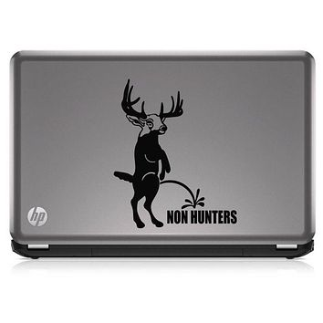 Buck Hunting Non Hunters Funny HNT1-27 Die Cut Vinyl Decal Sticker