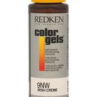 Redken Color Gels Permanent Conditioning Haircolor 9Nw - Irish Creme By Redken For Unisex - 2 Oz Hair Color