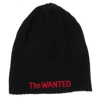 The Wanted (Word Of Mouth Tour) Black Beanie at Officialmerchshop.com