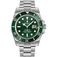 "Rolex Submariner ""Hulk"" Green Dial Men's Luxury Watch M116610LV-0002"