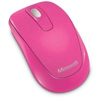 Microsoft 1000 Wireless Mobile Mouse, Magenta Pink (2CF-00036)