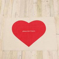 Urban Outfitters -  2x3 Please Don't Leave Rug