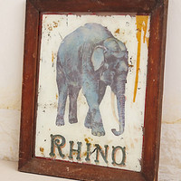 Rhino By Huw Griffith