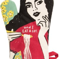 I'm Beautiful and I Eat A Lot Oven Mitt