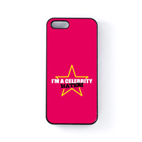 Celebrity Hater Black Hard Plastic Case for iPhone 5/5s by Chargrilled