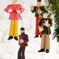 Beatles Ornament Set - Urban Outfitters