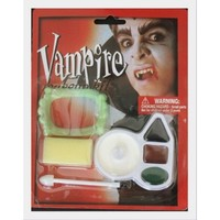 1 Dracula/vampire Face Painting Kit, fangs included!
