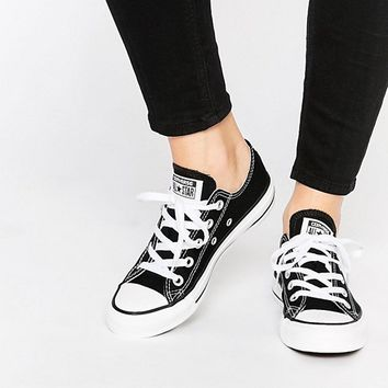 Converse Chuck Taylor All Star Core Black Ox Trainers at asos.com