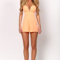 HelloMolly | Orange Juice Playsuit