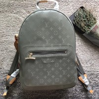 Louis Vuitton LV Monogram Titanium Backpack PM