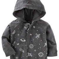 Galaxy Jersey Pullover