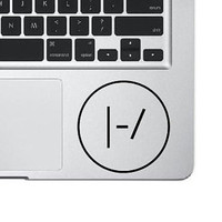 Twenty One Pilots Decal, Laptop Sticker, 21 pilot Sticker,  Laptop Decal, MacBook Decal, Vinyl Sticker