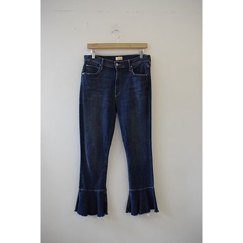 MOTHER Denim Cha Cha Fray Denim (31)