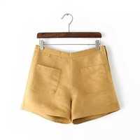 Korean Summer Stylish Casual Pants Women's Fashion Shorts [6034607361]