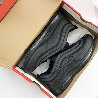 Nike  Air Max 97 Great hook classic retro jogging silvery shoes