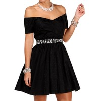 Pre-OrderChristie Charcoal Homecoming Dress