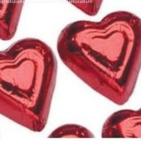 Mini Red Hearts Milk Chocolate (1 Lb)