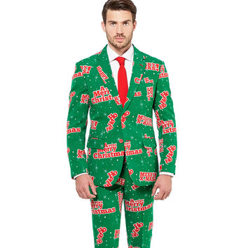 The Spiked Eggnog Suit