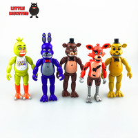 Five Nights At Freddy's PVC Action Figure LED light up toy figure set
