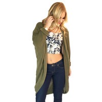 Good Life Floral Top In Navy